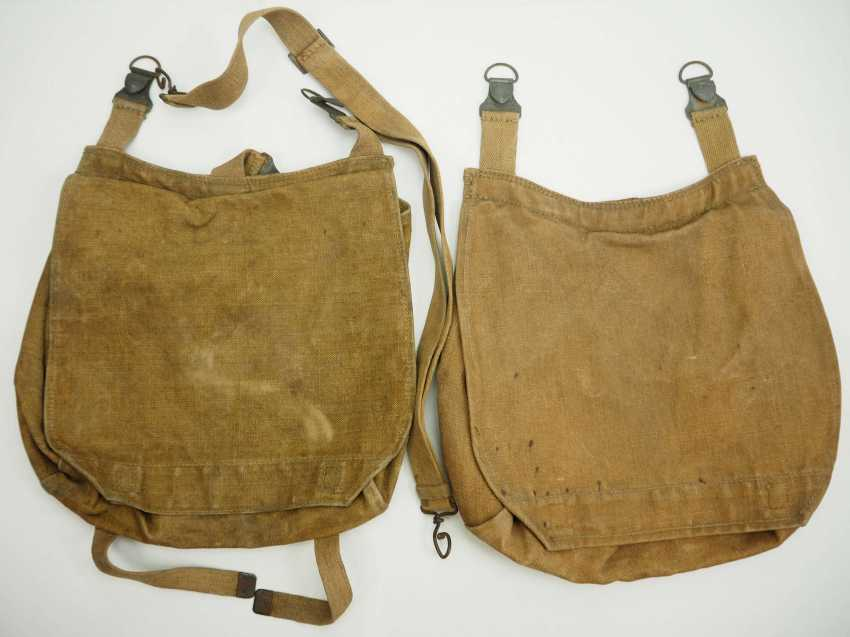 Poland: bread bag - 2 copies. Each with chamber stamp. Condition: II - photo 1