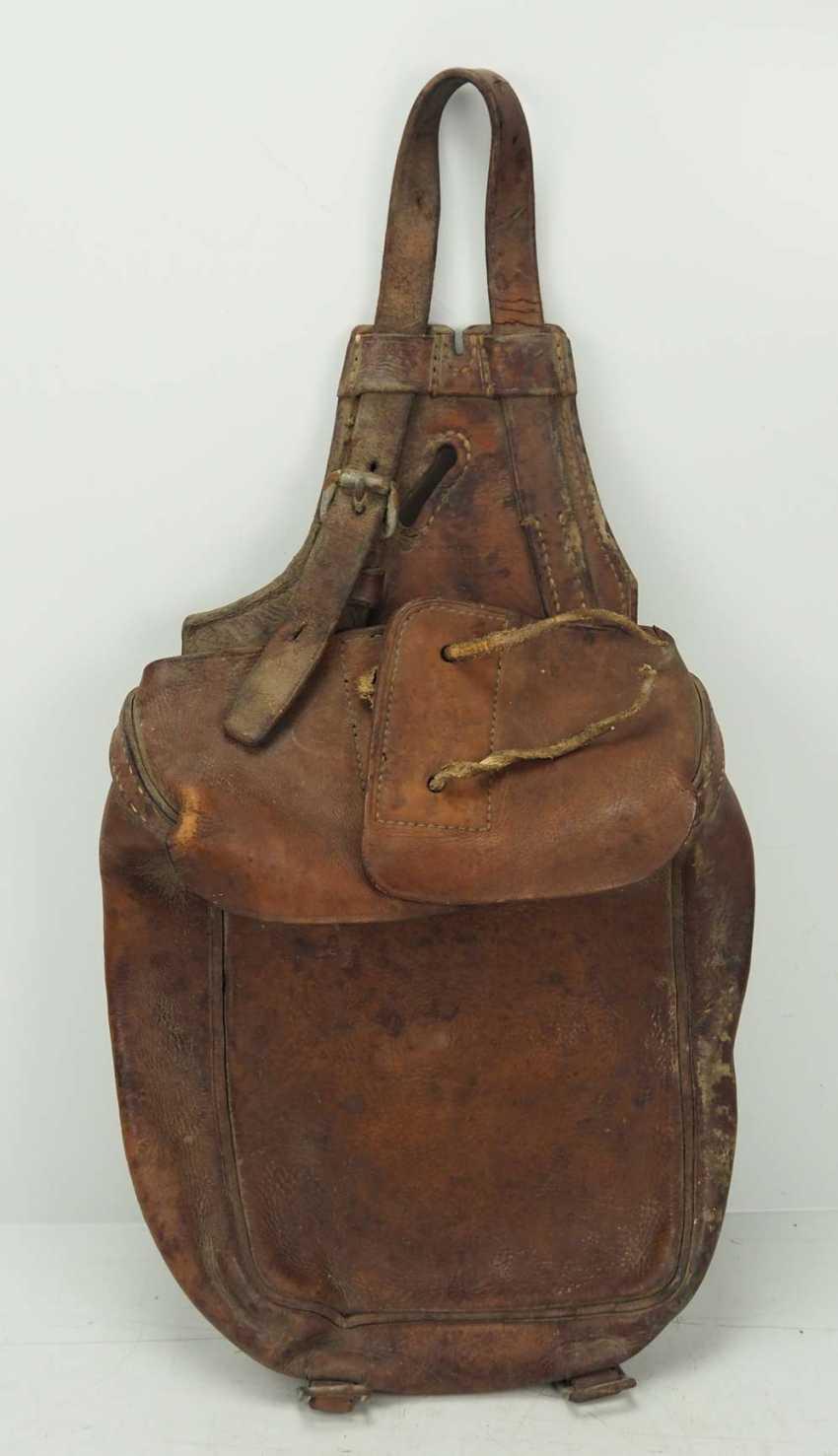 Poland: cavalry pannier. leather - photo 1
