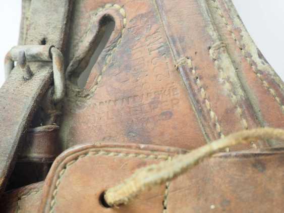 Poland: cavalry pannier. leather - photo 2