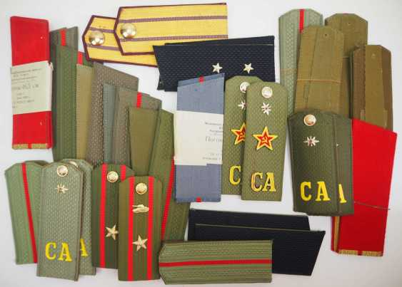 Soviet Union: Collection of shoulder pieces. Various ranks. Condition: II - photo 1