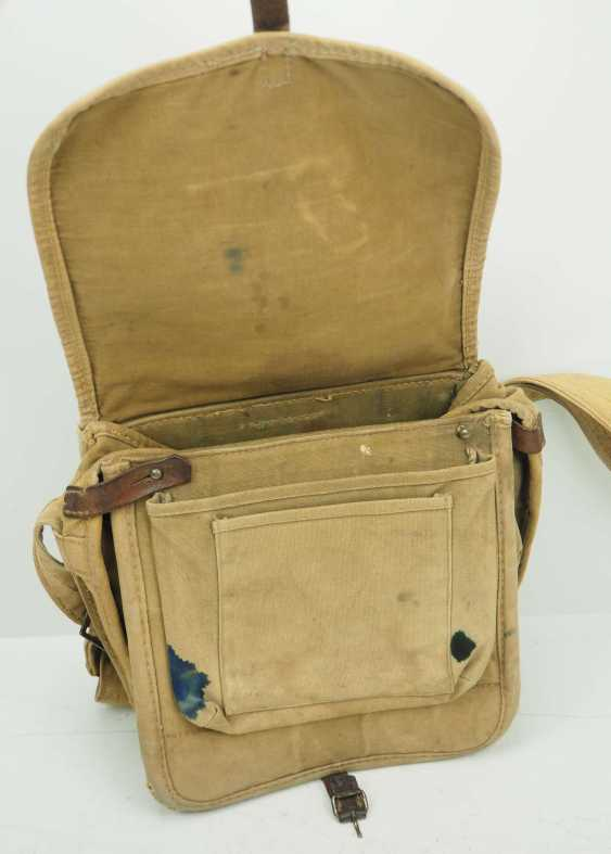 Soviet Union: Red Cross first aid kit. Sand colored cloth - photo 2