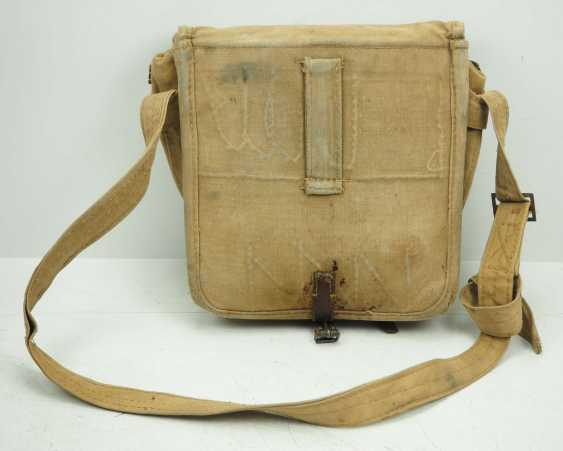 Soviet Union: Red Cross first aid kit. Sand colored cloth - photo 4