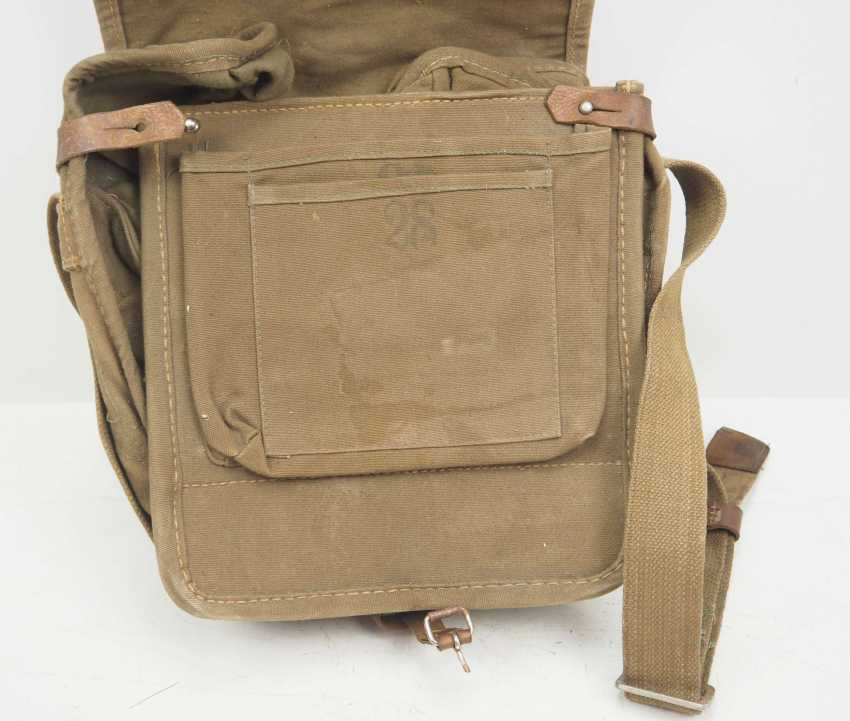Soviet Union: Red Cross first aid kit. Ocher colored cloth - photo 3
