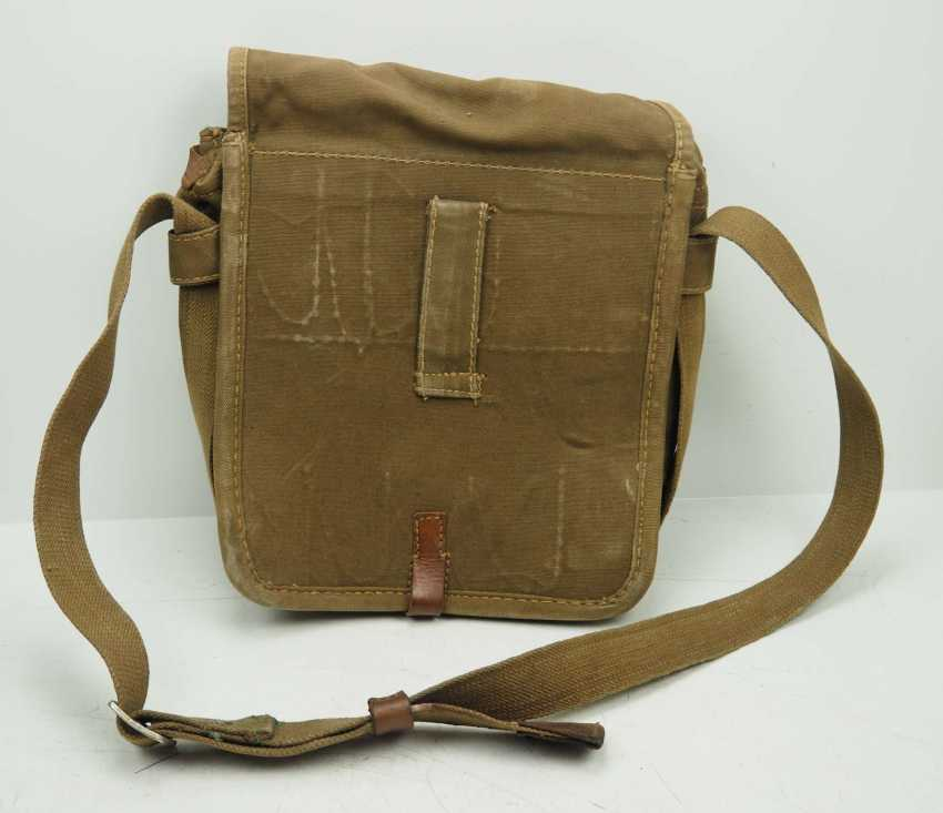 Soviet Union: Red Cross first aid kit. Ocher colored cloth - photo 5