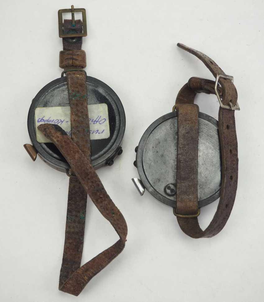 Soviet Union: Compass - 2 copies. Each with a bracelet. Condition: II - photo 2