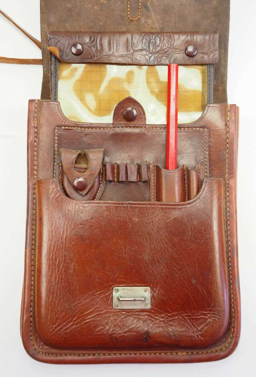 Soviet Union: map case 1937. Leather - photo 1