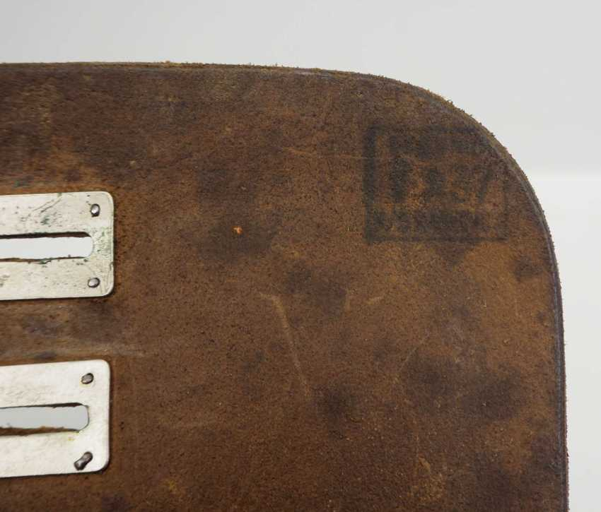 Soviet Union: map case 1937. Leather - photo 2