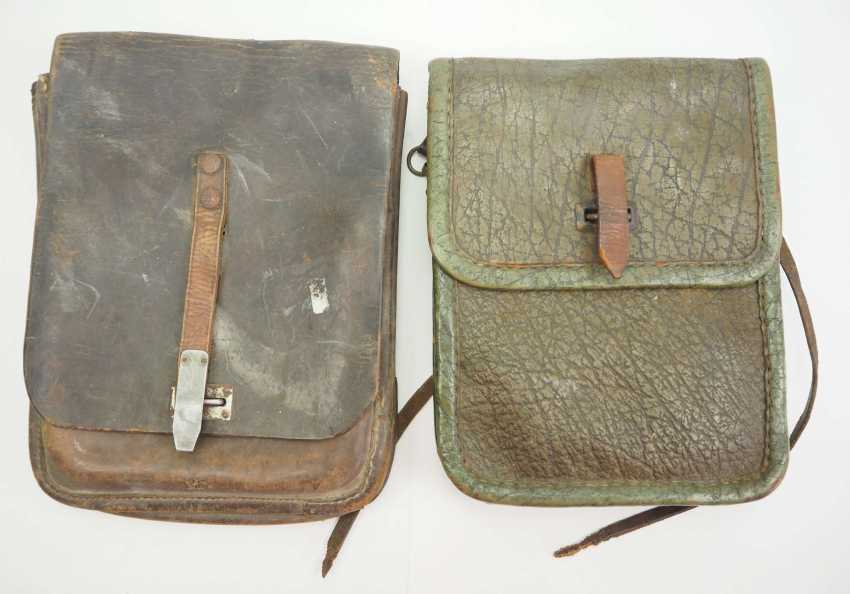 Soviet Union: map case - 2 copies. Leather or synthetic leather - photo 1