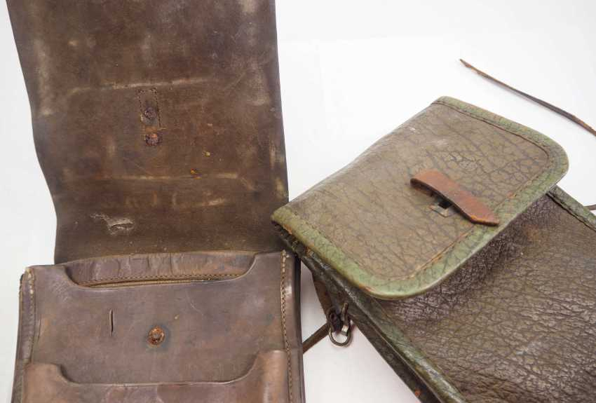 Soviet Union: map case - 2 copies. Leather or synthetic leather - photo 2