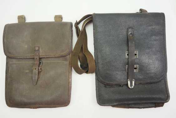 Soviet Union: map case - 2 copies. 1.) Synthetic leather - photo 1