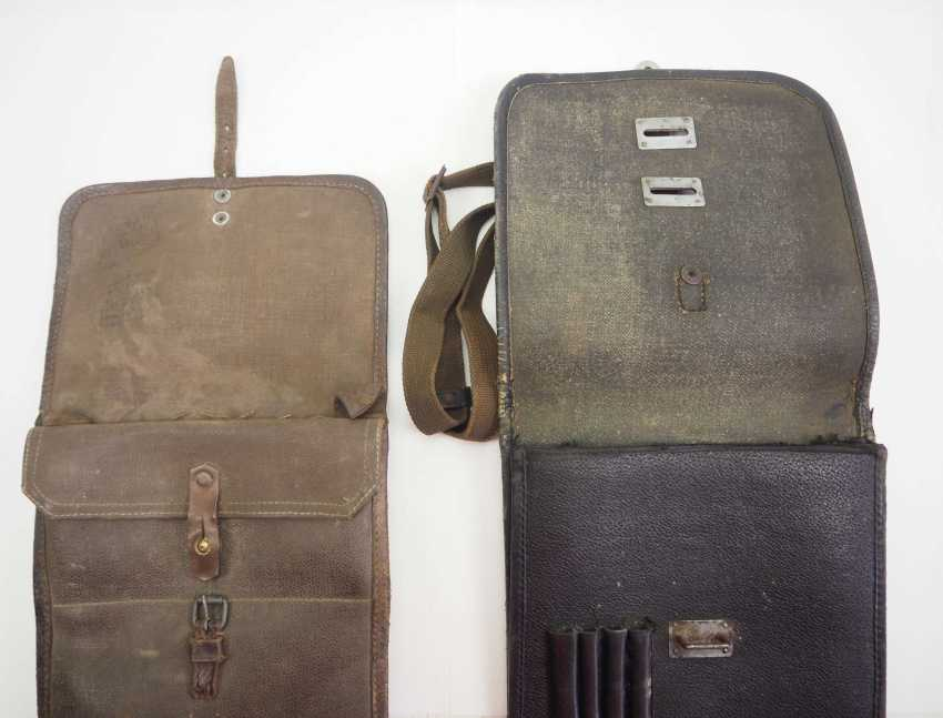 Soviet Union: map case - 2 copies. 1.) Synthetic leather - photo 2