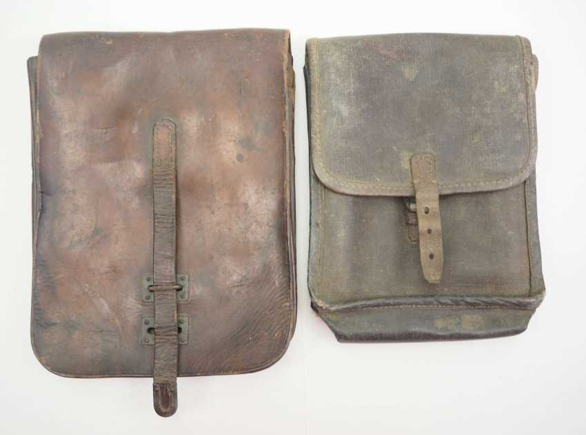 Soviet Union: map case - 2 copies. Leather or synthetic leather. Condition: II - photo 1