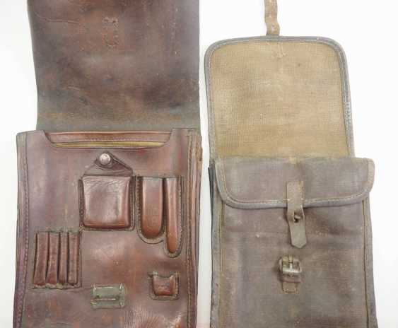 Soviet Union: map case - 2 copies. Leather or synthetic leather. Condition: II - photo 2