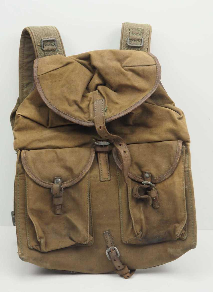 Soviet Union: Backpack M39 - 1940. Ocher colored - photo 1