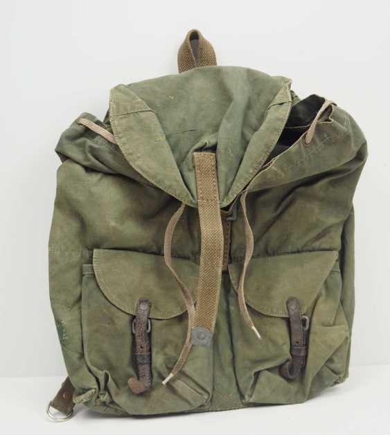 Soviet Union: Backpack M39. Green cloth - photo 1