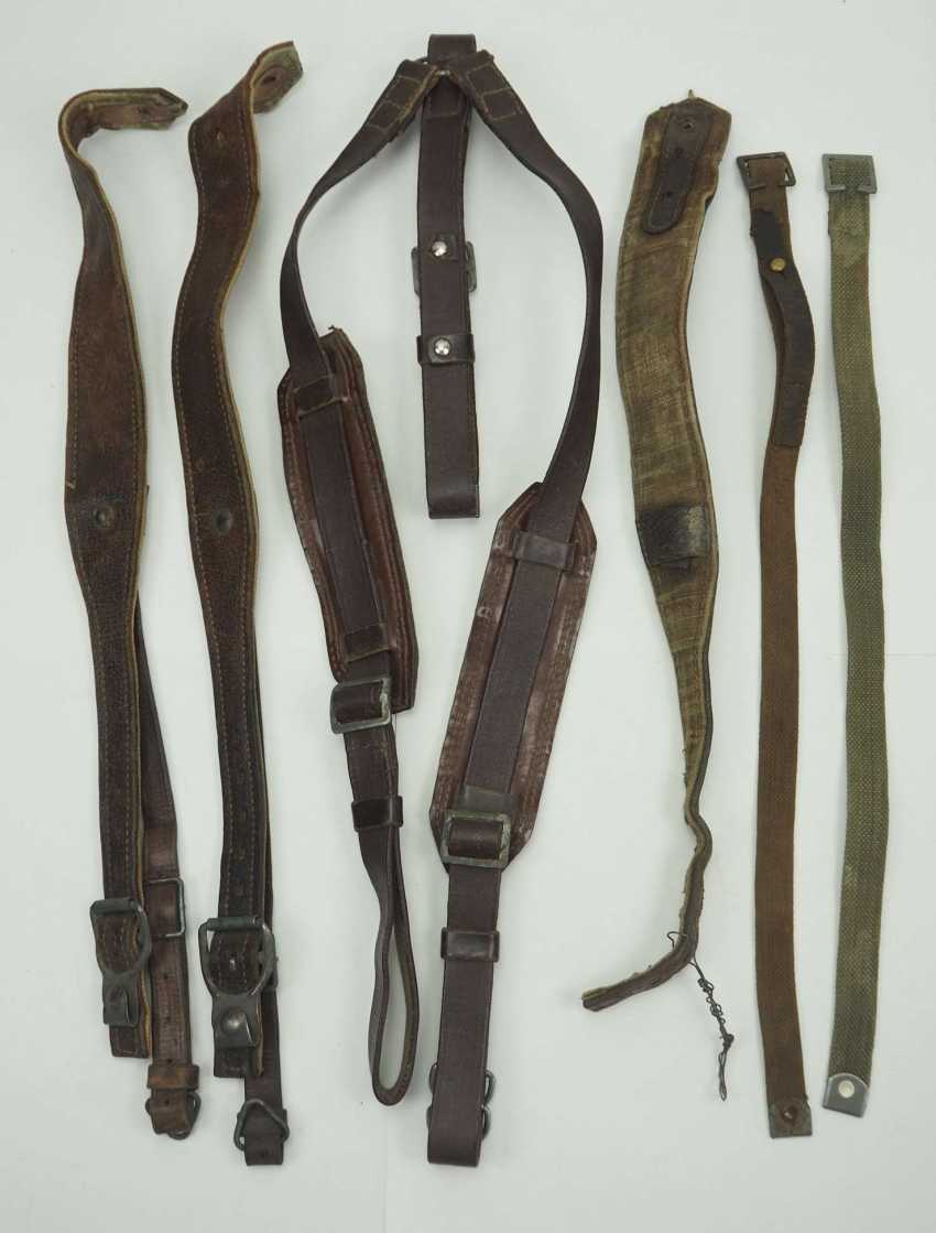Soviet Union: knapsack and rucksack straps. Various - photo 1