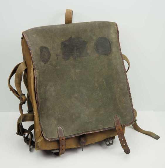 Soviet Union: knapsack. Body made of linen fabric - photo 1