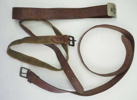 Soviet Union: belt with belt - 3 copies. Various. Condition: II - photo 1