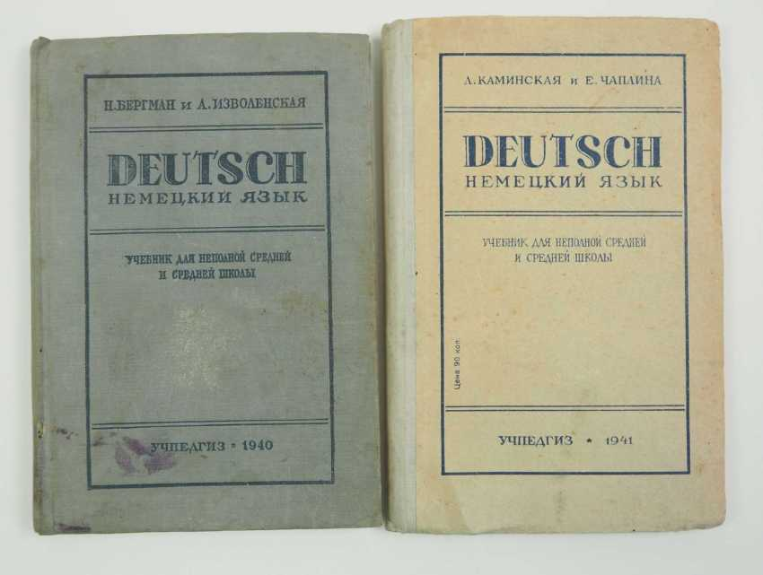 Soviet Union: Russian German Learning Books 1940/41. Always in good condition. Condition: II - photo 1