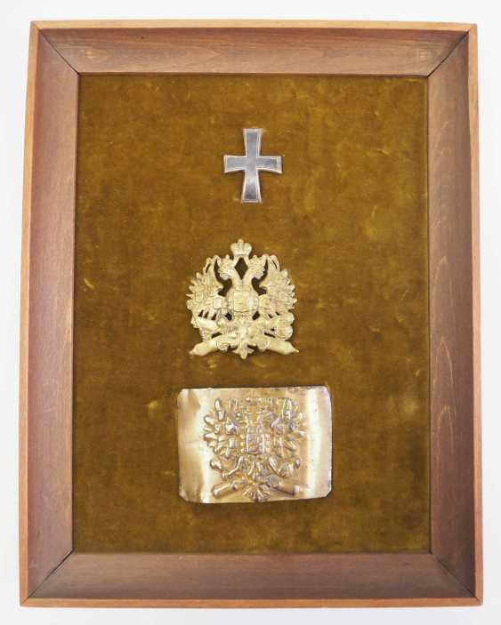 Russia: effects of an artillery soldier. Frame with applied cap cross - photo 1