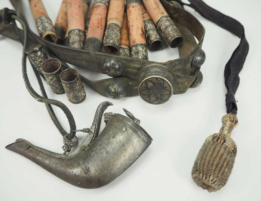 Caucasian: An officer's bridle and equipment. Leather bridle - photo 1