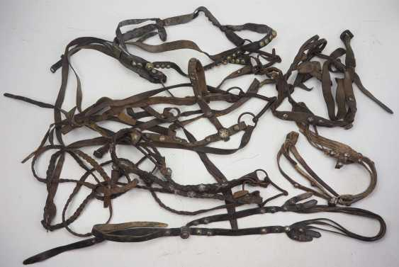 Caucasian: bridle and harness - 3 copies. 3 x bridles and 3 x horse harnesses each - photo 1