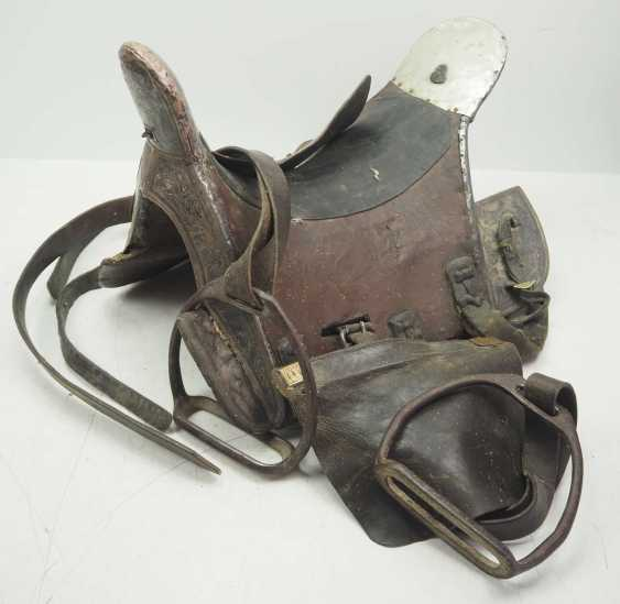 Caucasian: Cossack officer's saddle. Wood - photo 1