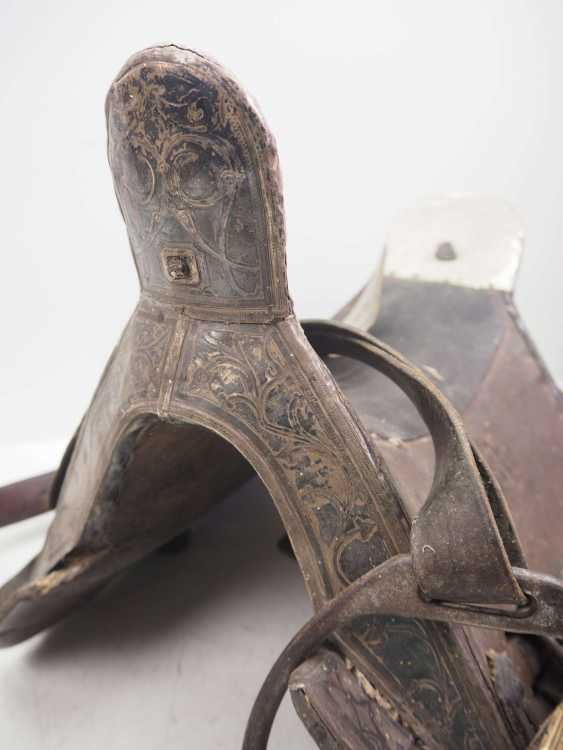 Caucasian: Cossack officer's saddle. Wood - photo 2