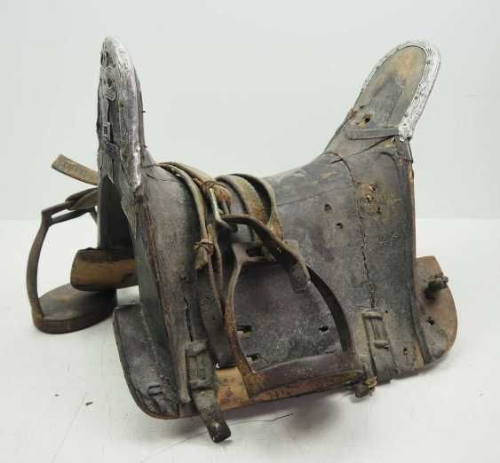 Caucasian: Cossack saddle. Wood - photo 1