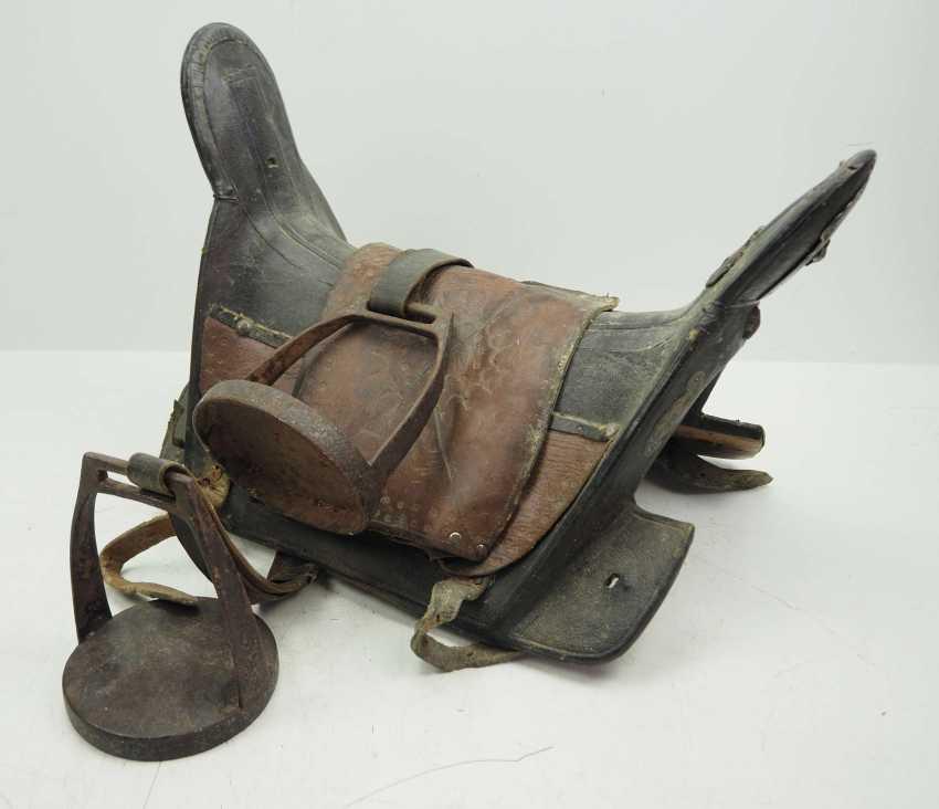 Caucasian: Cossack saddle. Wood - photo 1