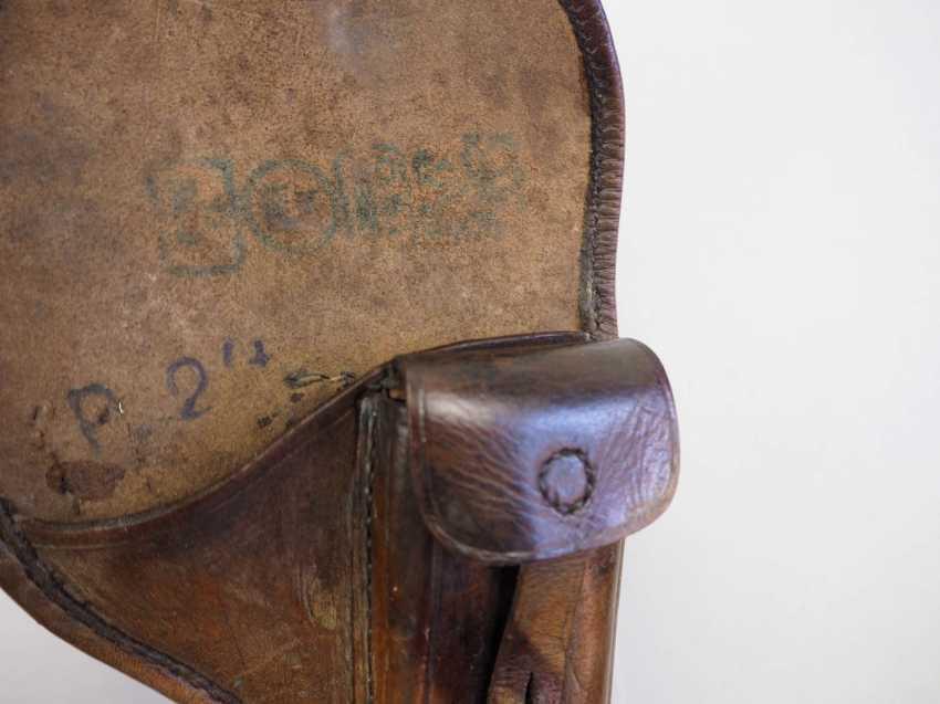 Czech Republic: pistol pouch - 2 copies. Each leather. Condition: II - photo 2