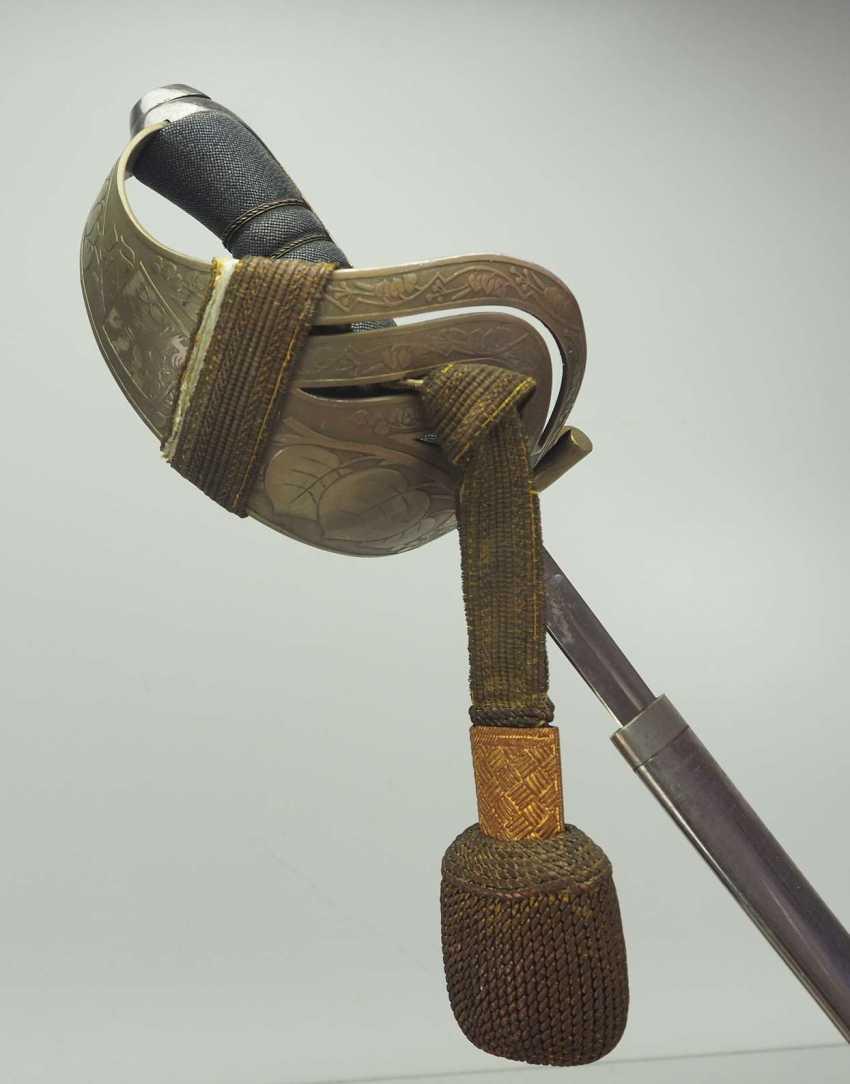 Cheeslovakia: saber. Bare blade - photo 1