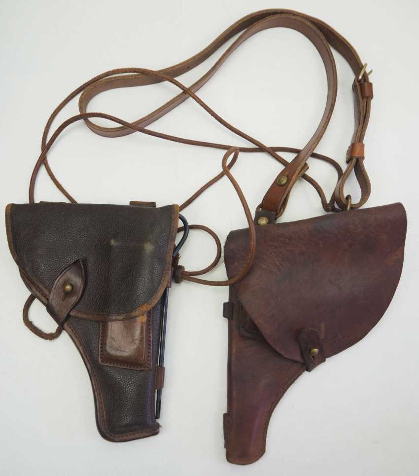 Soviet Union: holster - 2 copies. Each leather or synthetic leather - photo 1