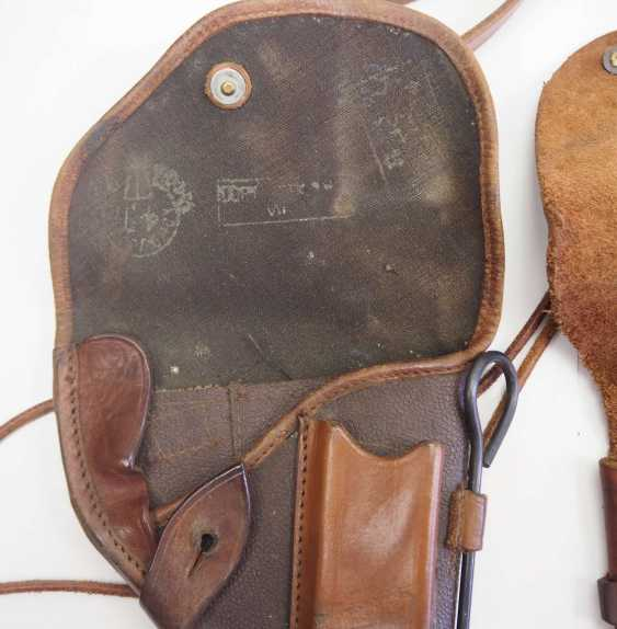 Soviet Union: holster - 2 copies. Each leather or synthetic leather - photo 3