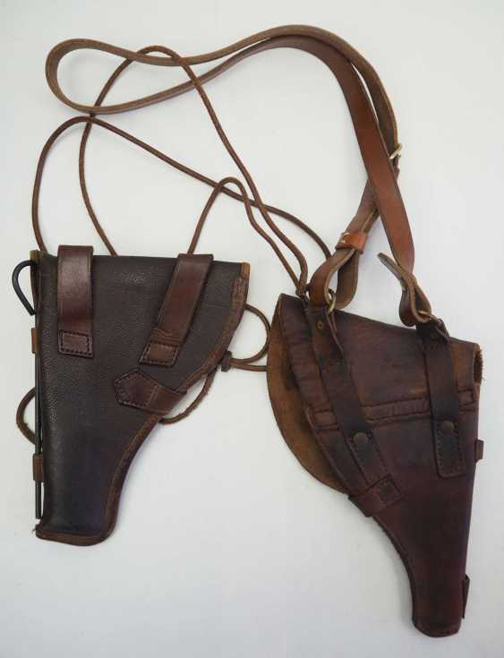 Soviet Union: holster - 2 copies. Each leather or synthetic leather - photo 4