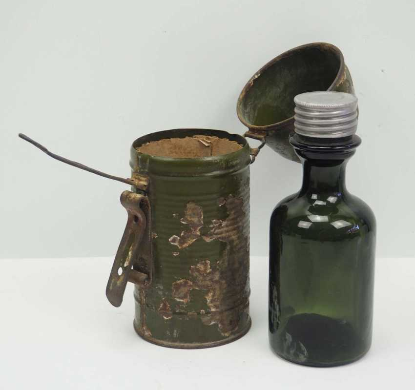 Soviet Union: Molotov cocktail. Glass bottle with bottom inlet - photo 1