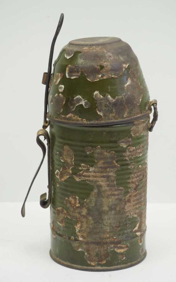 Soviet Union: Molotov cocktail. Glass bottle with bottom inlet - photo 4