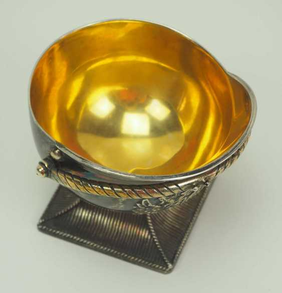 Russia: Tschapka drinking cup. silver - photo 2