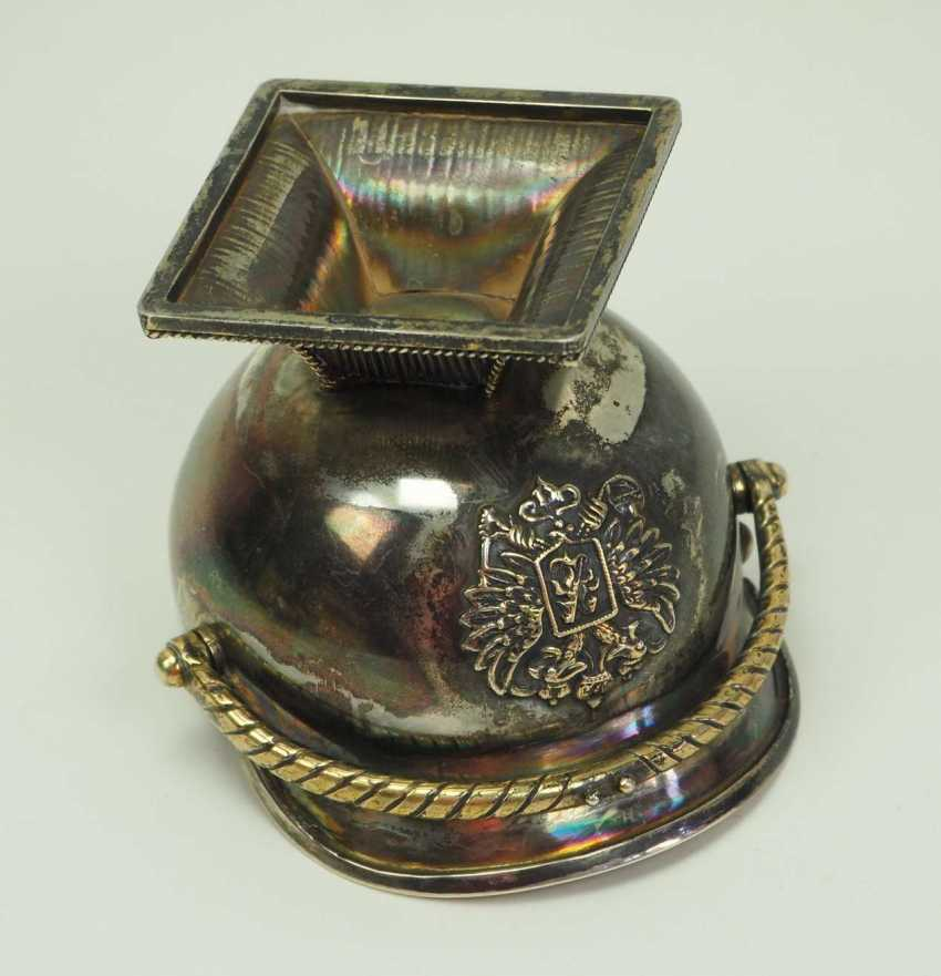Russia: Tschapka drinking cup. silver - photo 3