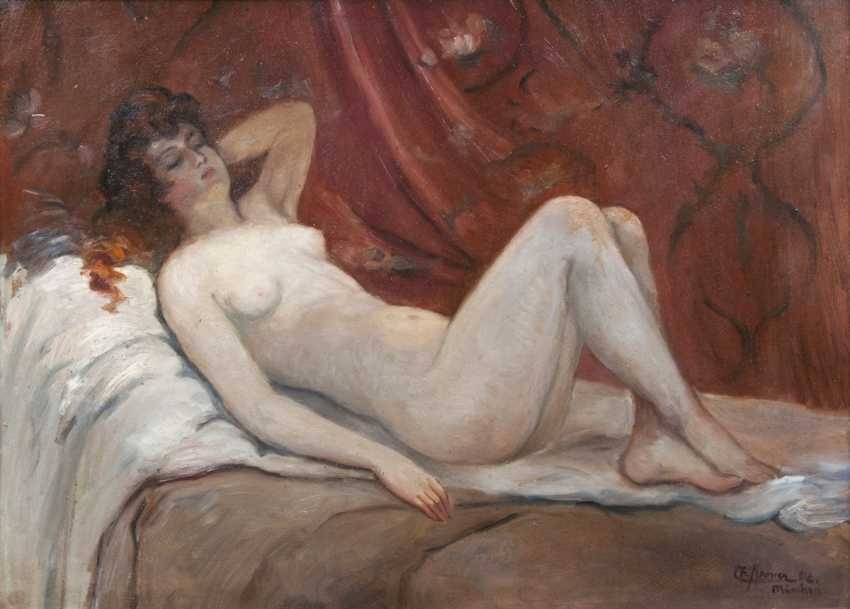Something Reclining nude art photography topic final