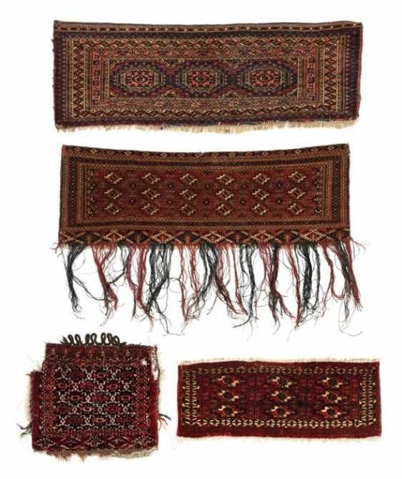 Four knotted pocket fronts, including Torba / Mafrash - photo 1