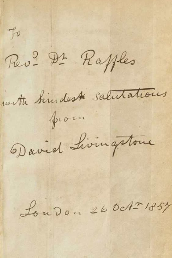 Livingstone, David: 'Missionary Travels and Researches in South Africa - photo 2