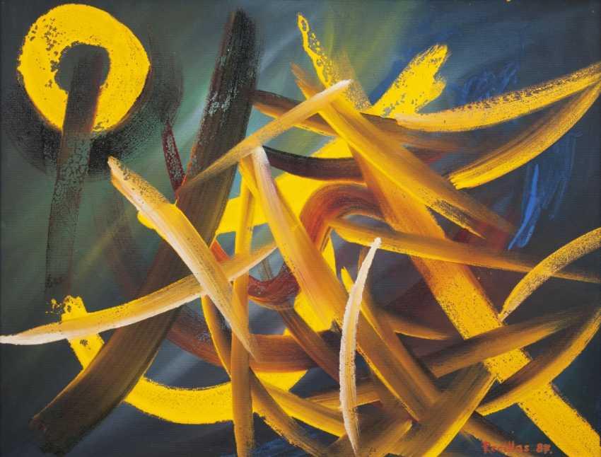 Sanchez Recillas Spanish artist, active 2. Half of the 20. Century. Golden Sparks - photo 1