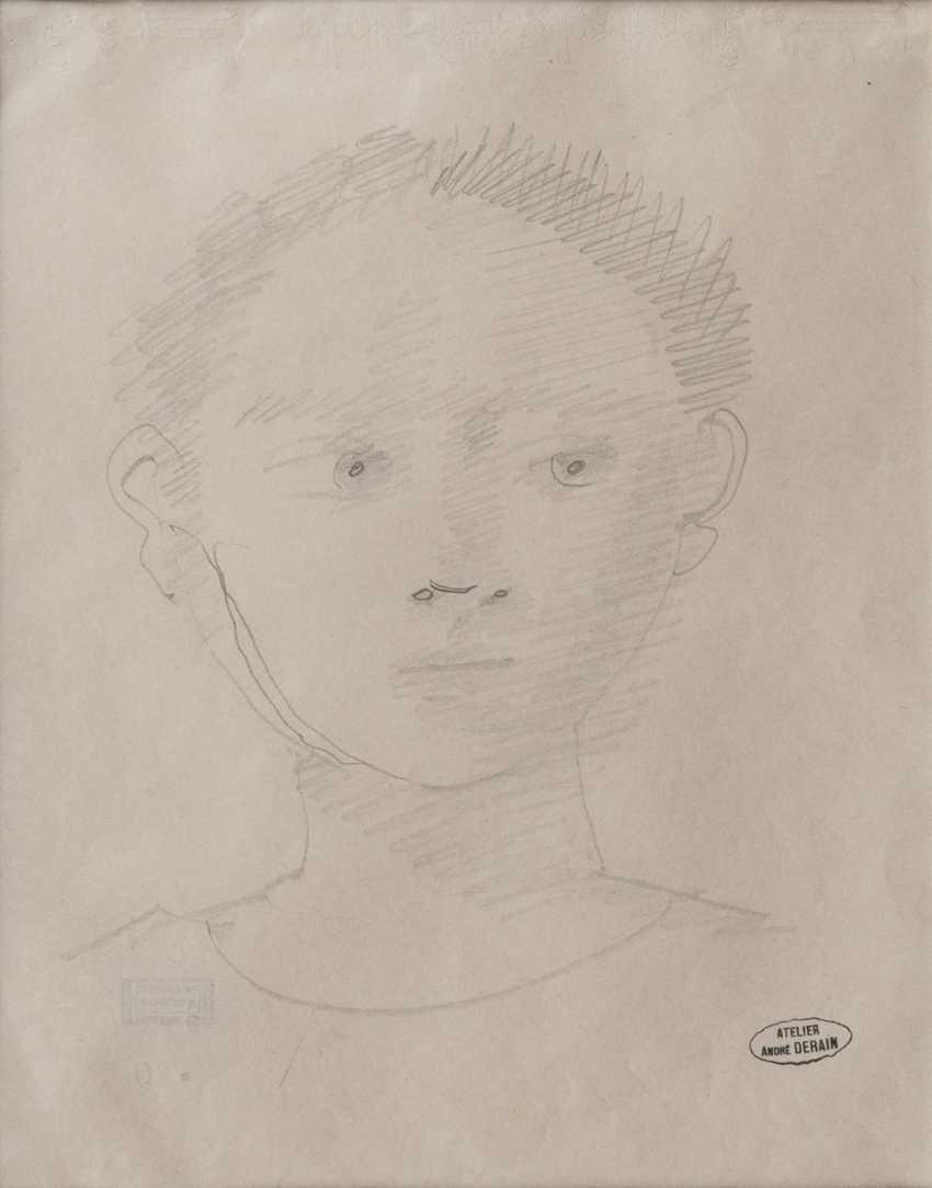 André Derain (Chatou, 1880 - Garches, 1954). Kopf - photo 1