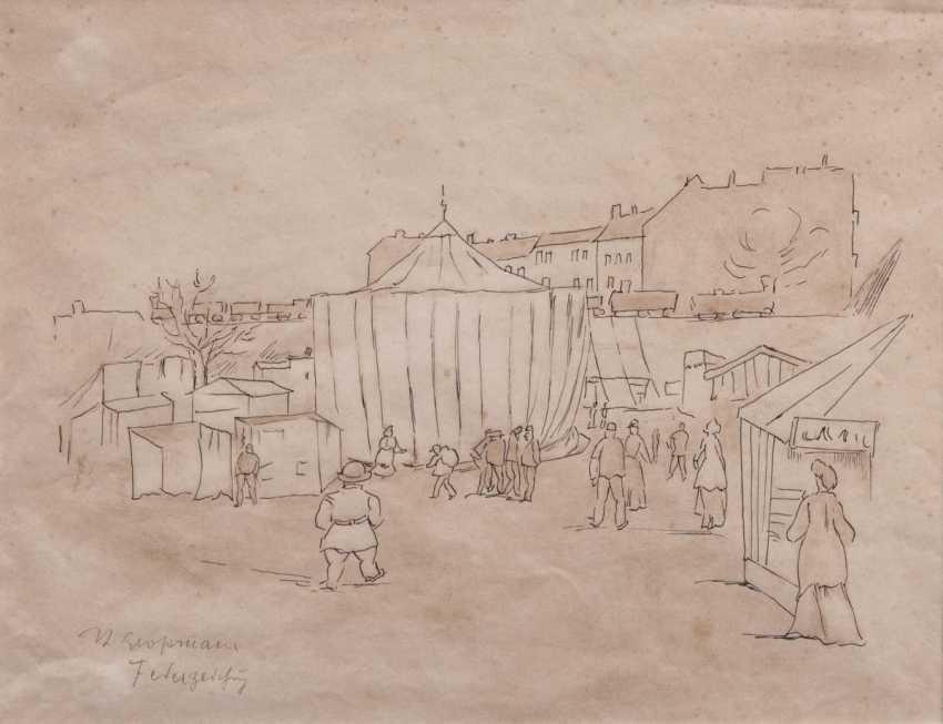 Rudolf Großmann (Freiburg/Br. 1882 - Freiburg/Br. 1941). Circus - photo 1