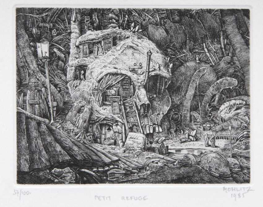 Philippe Mohlitz (Bordeaux, 1941). Small Refuge - Kleines Refugium - photo 1