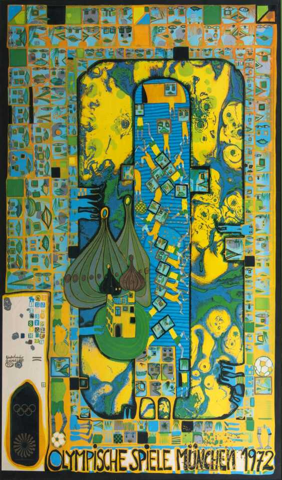 Friedensreich Hundertwasser (Vienna, 1928 - in front of Australia 2000). Olympic Games Munich 1972 - photo 1