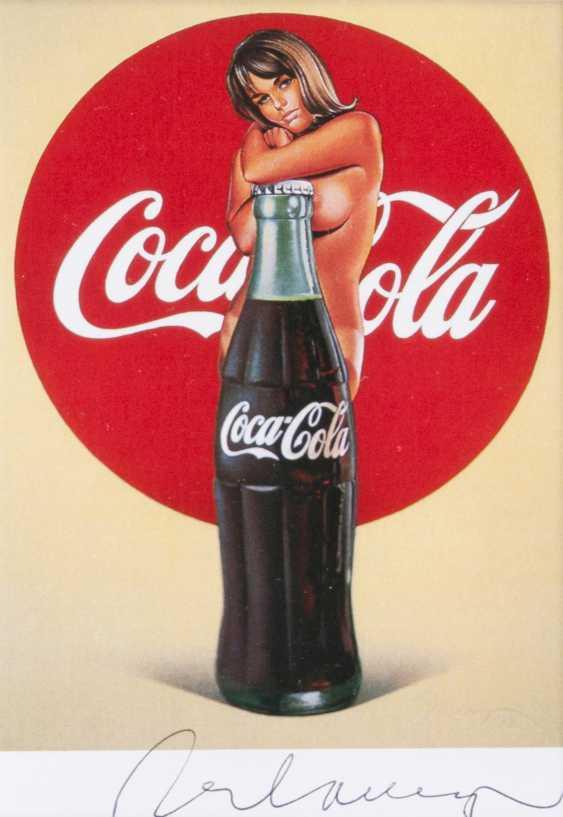 Mel Ramos (Sacramento/Kalifornien 1932). Coca-Cola - photo 1