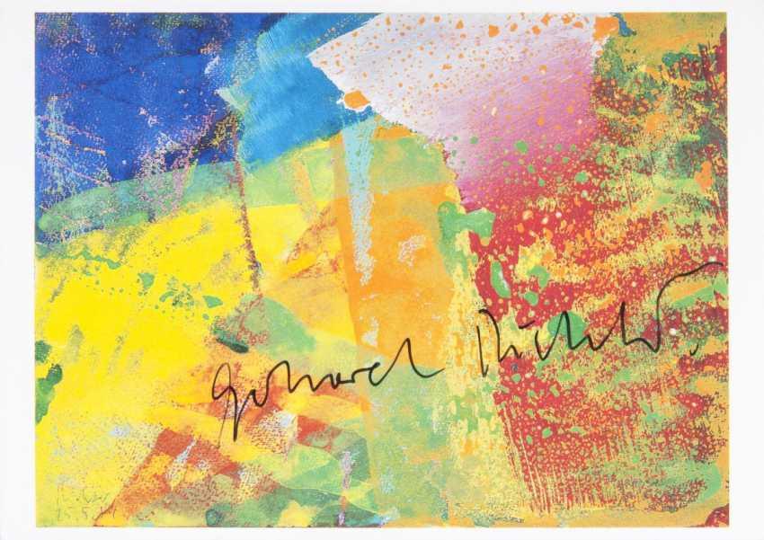 Gerhard Richter (Dresden, 1932). 25.05.84 - photo 1