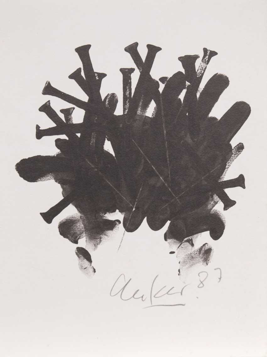 Günther Uecker (Wendorf/Mecklenburg. 1930). Nail image - photo 1